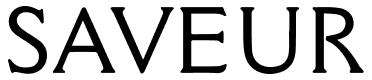 Logo for Saveur