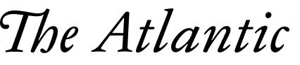 Logo for The Atlantic